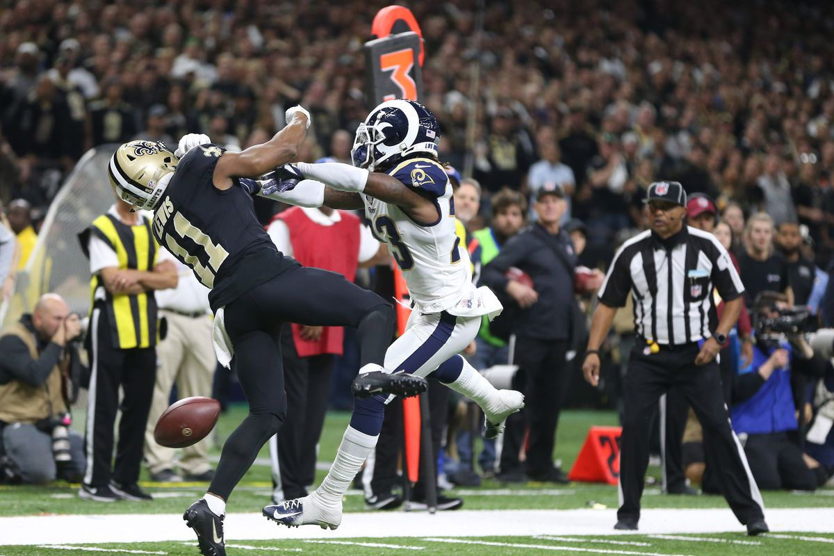 Rams News Now >> Nfl Makes Pass Interference Reviewable By Replay Here S What It