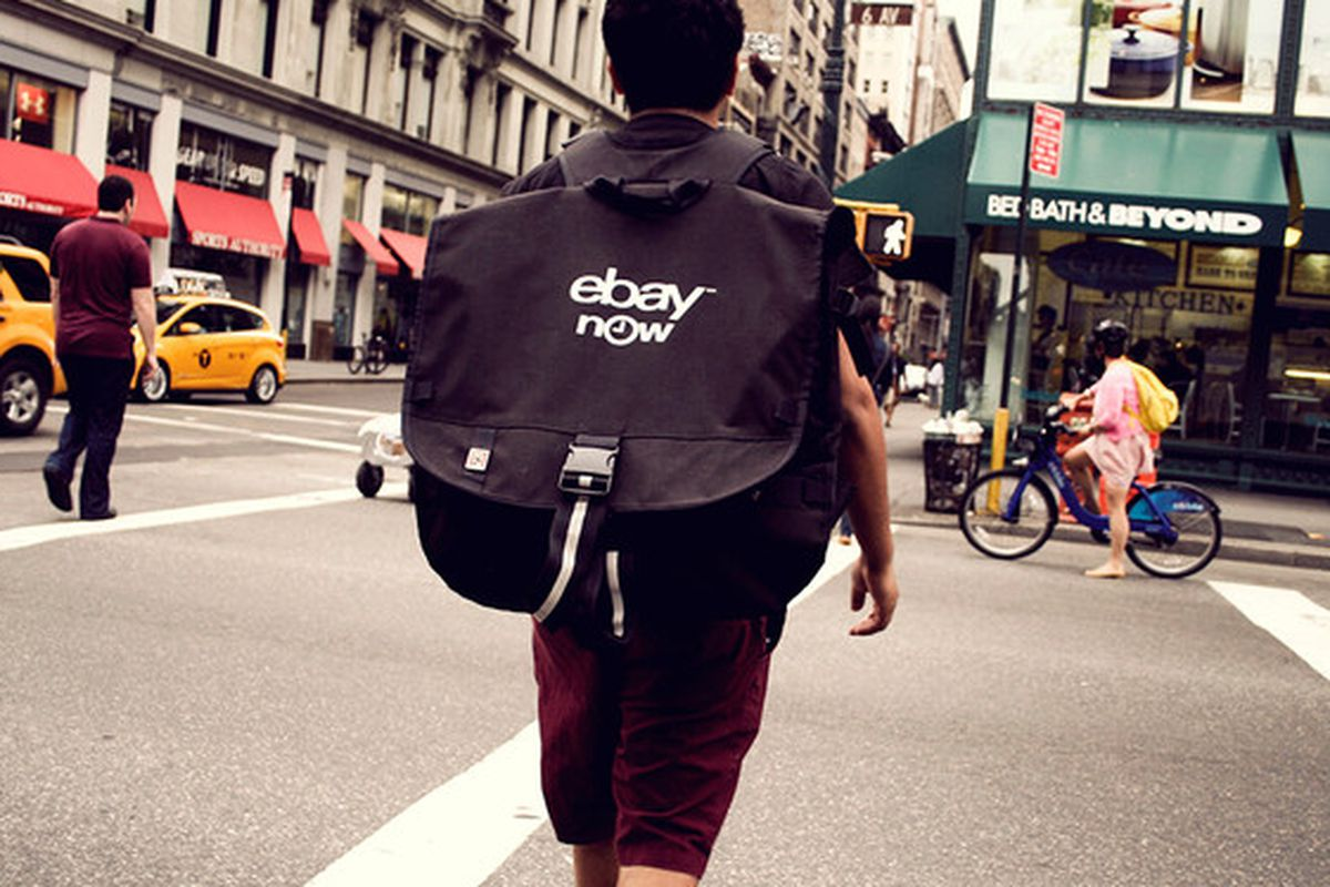 """Image via<a href=""""http://www.fastcompany.com/3014672/condoms-ipads-and-toilet-paper-a-day-in-the-life-of-an-ebay-now-deliveryman""""> FastCompany</a>"""