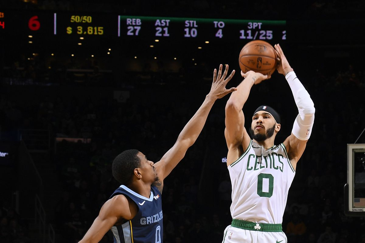 Memphis Grizzlies v Boston Celtics