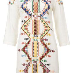Embellished Smock Dress, $150