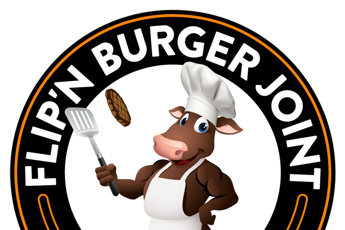The logo for the Flip'n Burger Joint drive-thru headed to Sunrise.