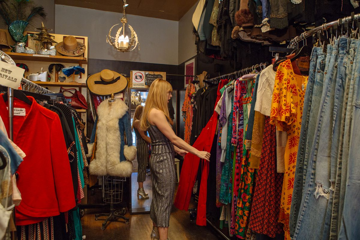 How Vintage Maven and DJ Alix Brown Does Downtown New York ...