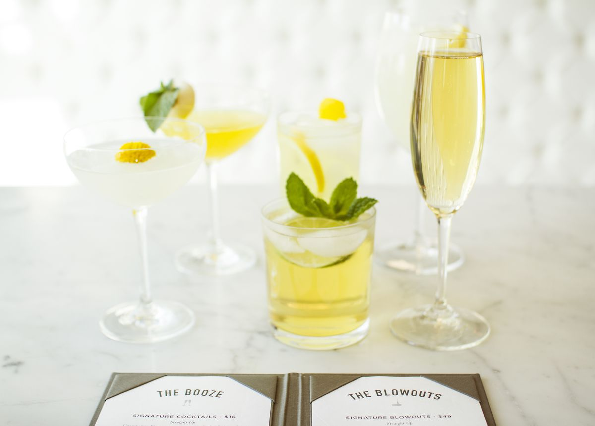 Drybar's cocktails
