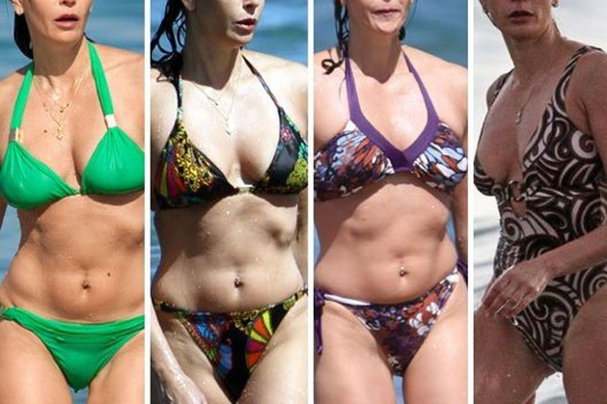 "Image via <a href=""http://www.tmz.com/2010/04/02/teri-hatcher-bikini-four-pics-desperate-photo-hawaii/"">TMZ</a>"