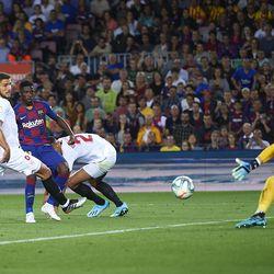The highlight of Dembele's season - his goal against Sevilla