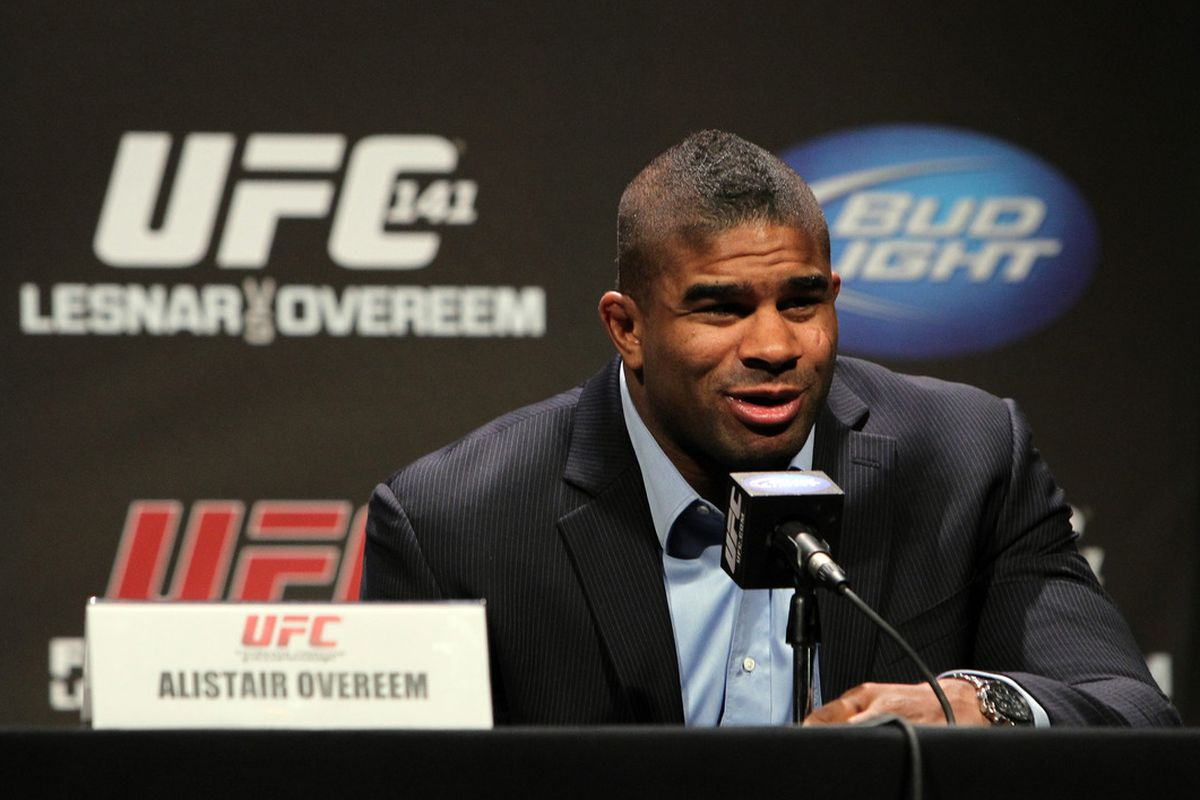 Alistair Overeem UFC 141 Press Conference