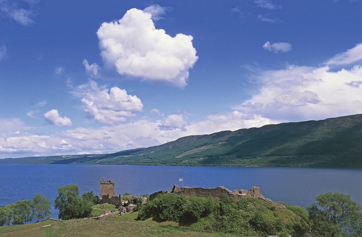 A picturesque view of Loch Ness in 2014 (DEA/S. Vannini/Getty Images)