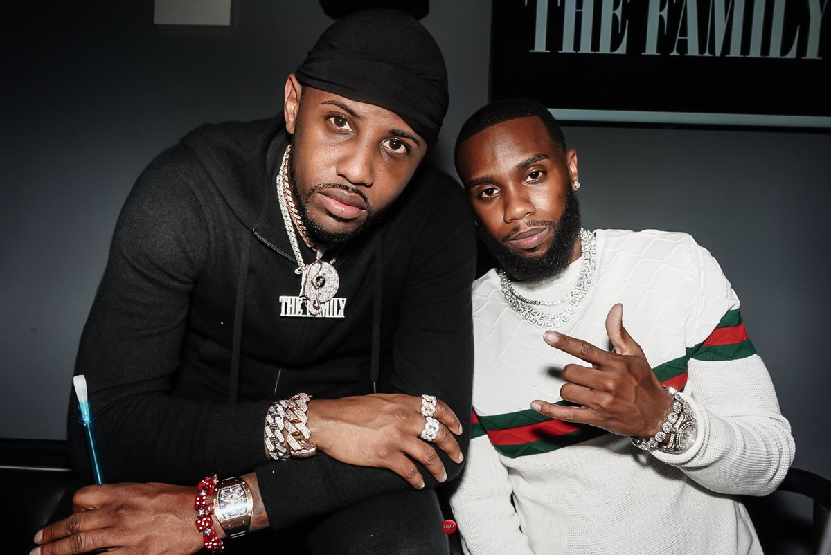 """Chicago's Josh K (right, with New York rapper Fabulous) is preparing to release his follow up to """"Lovers Lane: Act 2."""""""