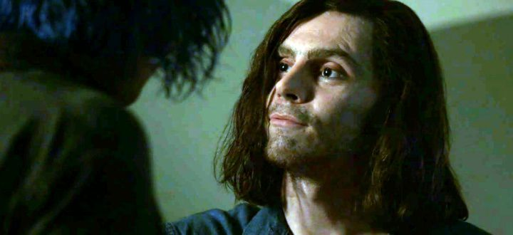 Kai (Evan Peters) as Charles Manson in American Horror Story: Cult.