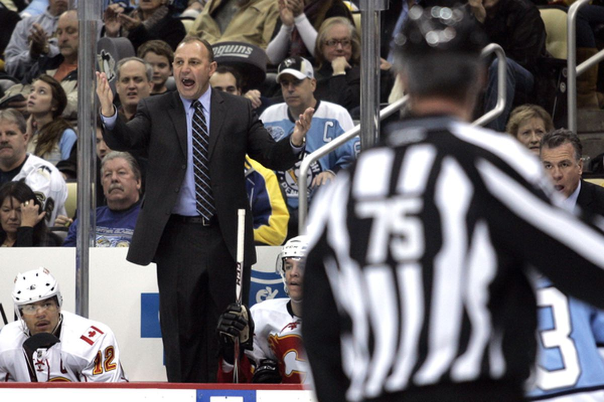 Brent Sutter will have a new assistant coach to terrorize next season.
