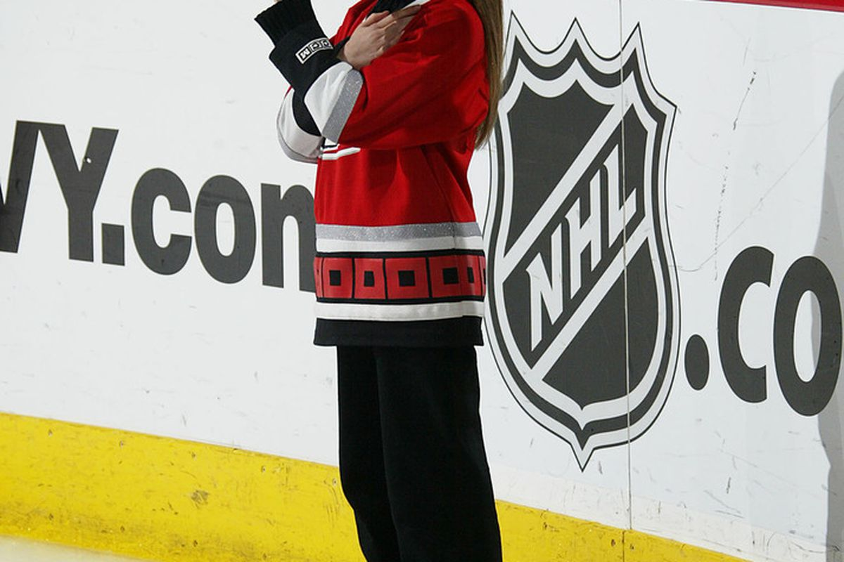 Katherine Fritsch will belt out the National Anthem before Carolina Hurricanes games again this season.