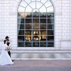 Chaya Zippel and Rabbi Mendy Cohen pose for wedding photos after their traditional Chabad Lubavitch Jewish wedding at the Grand America Hotel in Salt Lake City on Monday, Sept. 12, 2016.