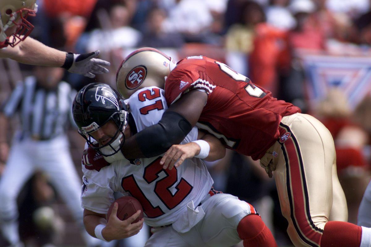 Falcons v 49ers X