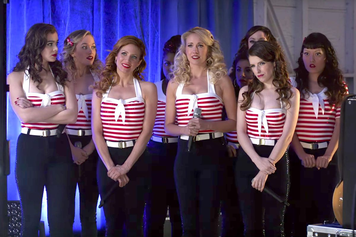 A scene from Pitch Perfect 3