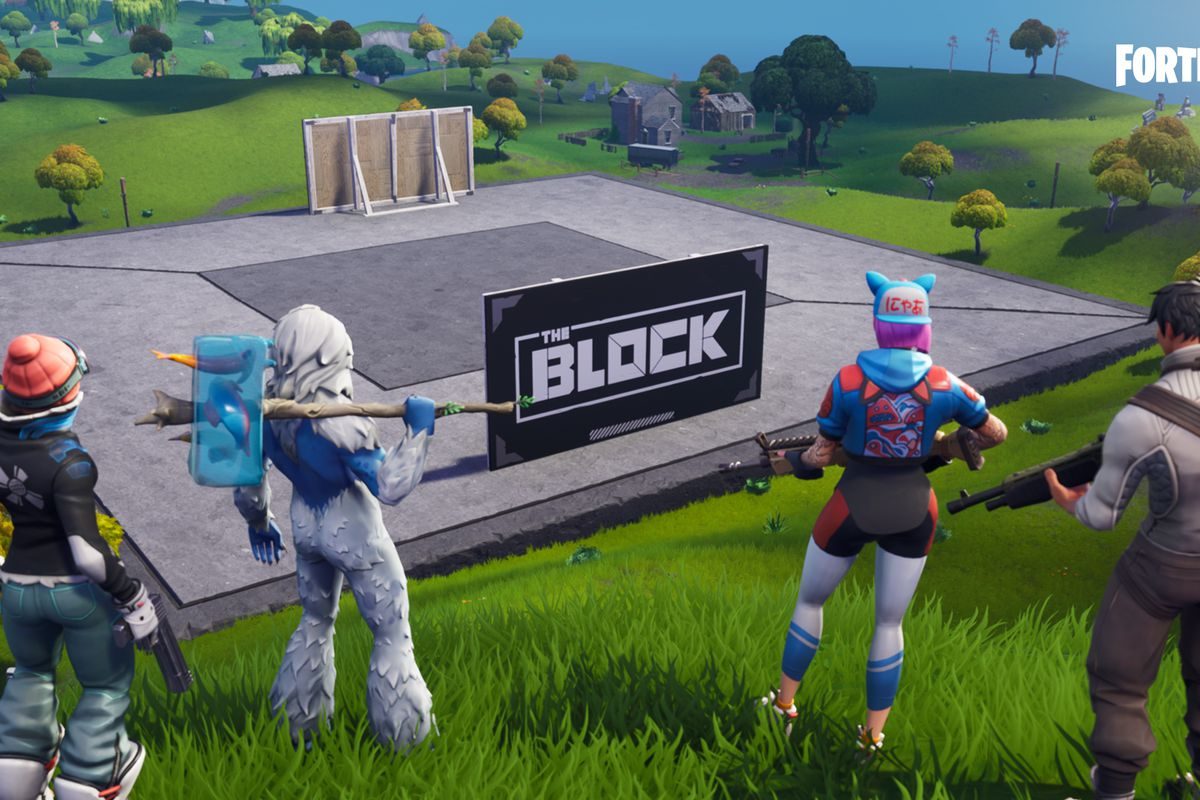 Fortnite S New Block Area Will Feature Player Creations The Verge