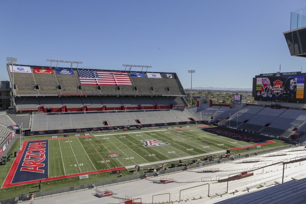 COLLEGE FOOTBALL: DEC 29 Arizona Bowl - Utah St v New Mexico St