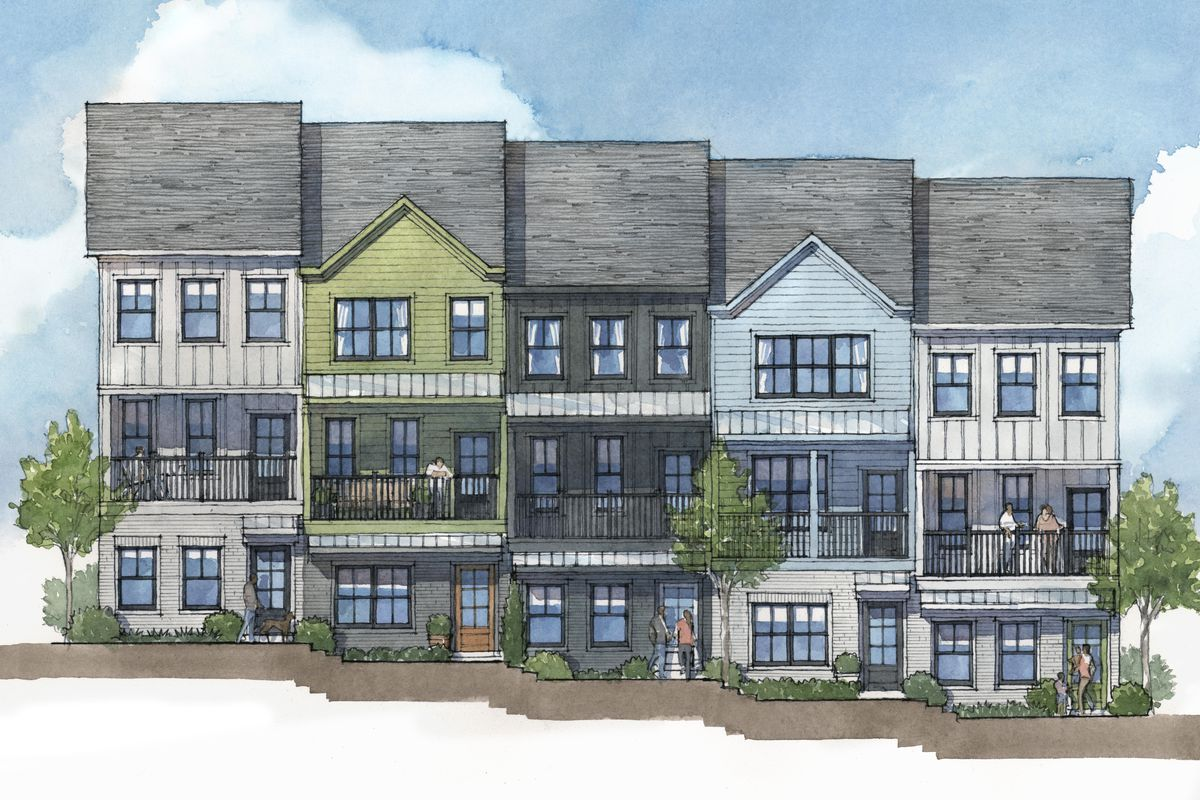 First look: In Grant Park, major townhouse project launching on ...