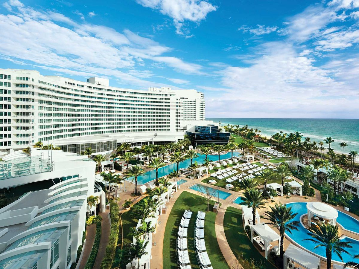 The East Side Of Fontainebleau Miami Beach Via