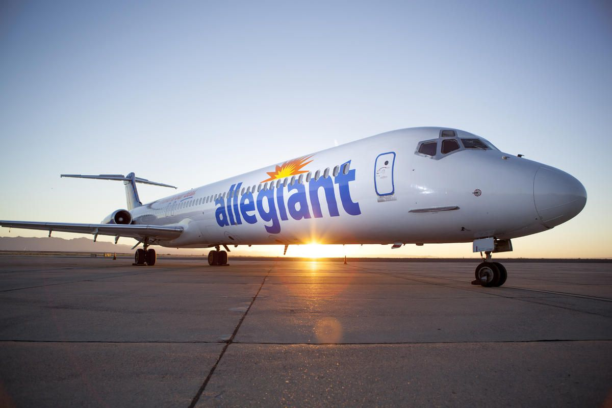 Allegiant Air launches a new flight from Provo to San Diego, Tuesday, June 28, 2016. The airline is giving away free flights to 24 travelers and a guest for the two inaugural flights between locations.