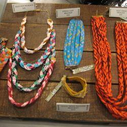 Thief & Bandit fabric jewelry