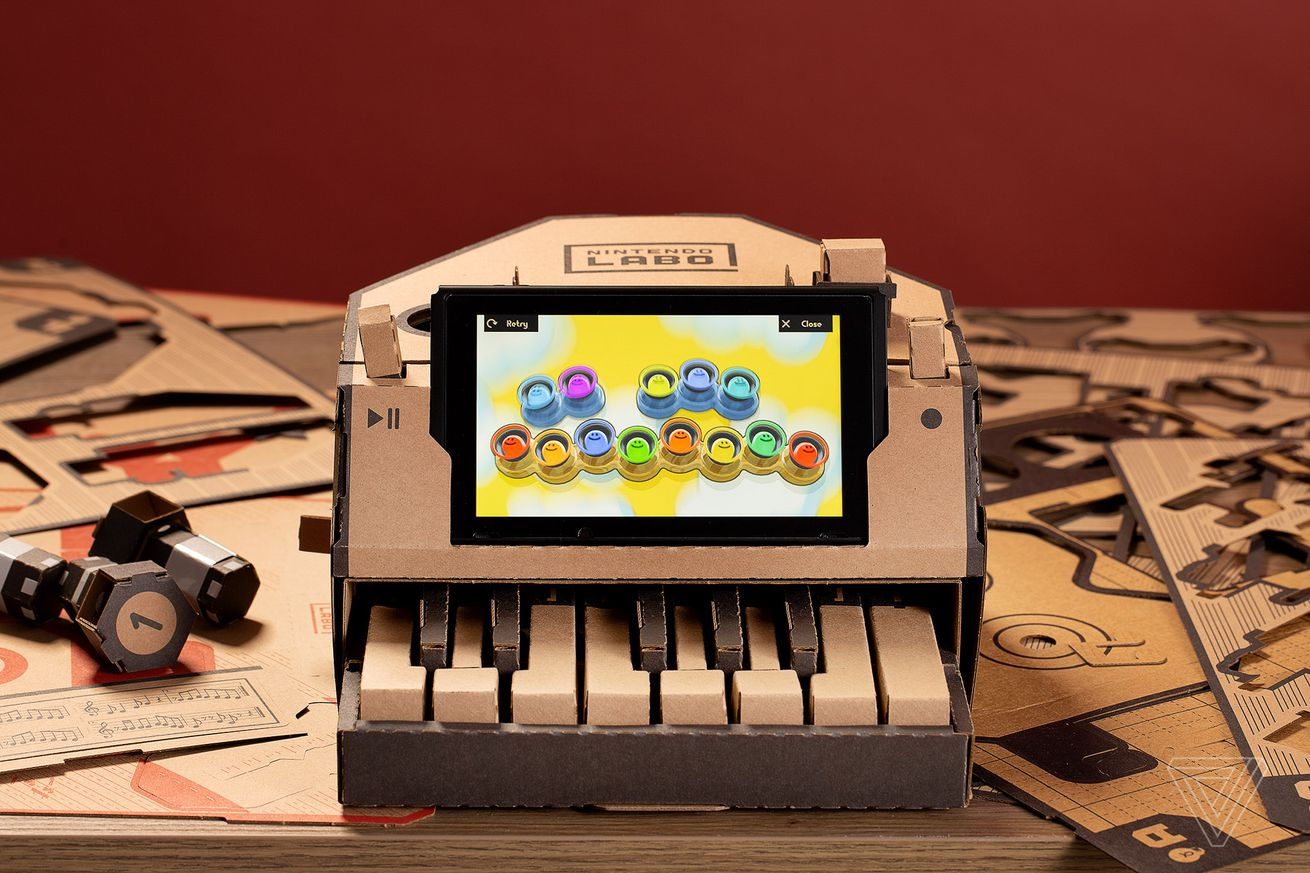 some neat and clever creations people have made with nintendo labo so far