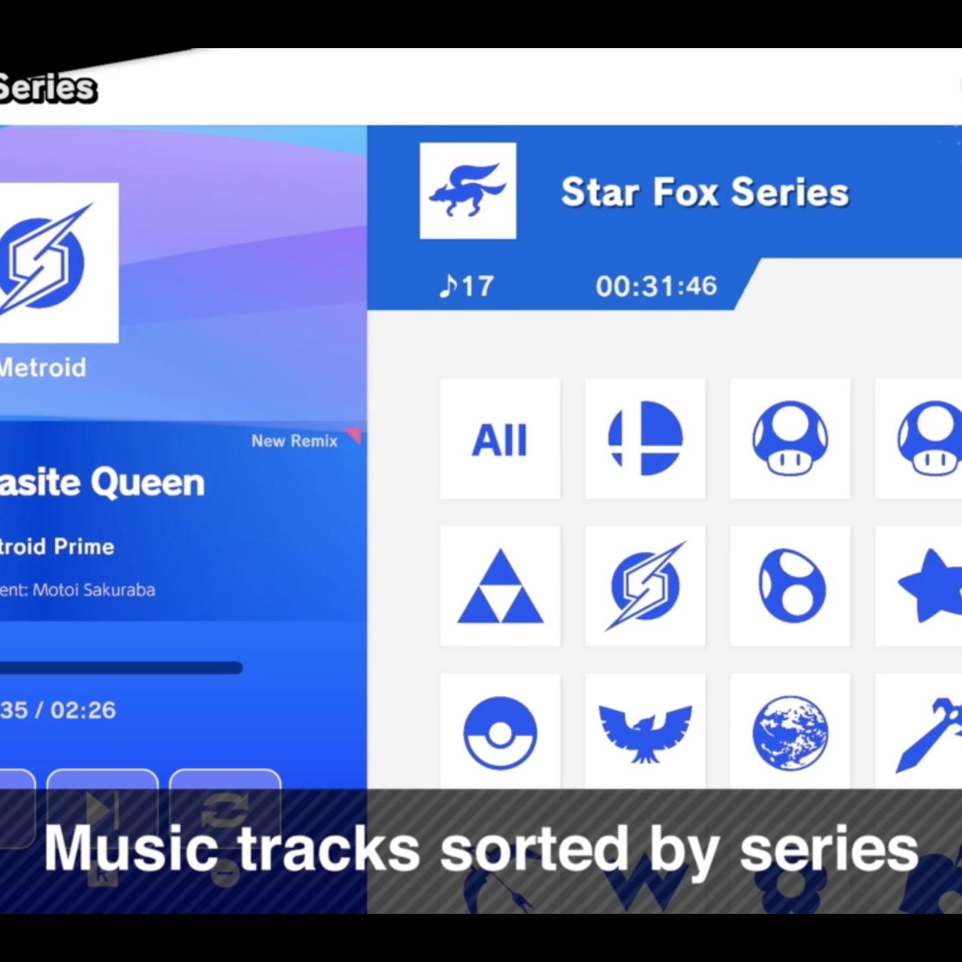 Super Smash Bros  Ultimate lets you listen to the soundtrack
