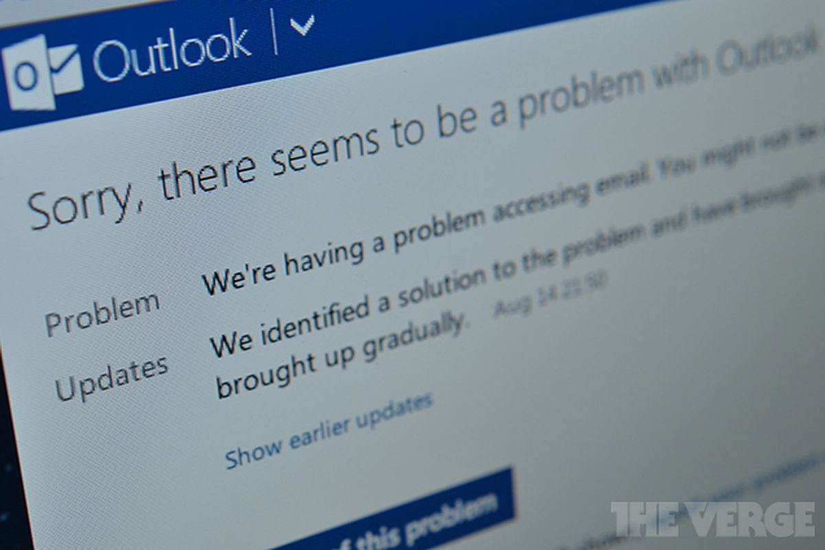 Outlook.com outage