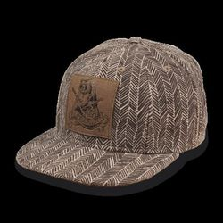 The herringbone baseball cap