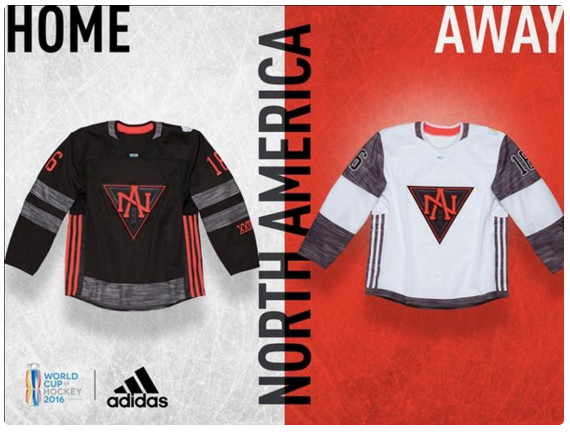 team north america world cup of hockey jersey