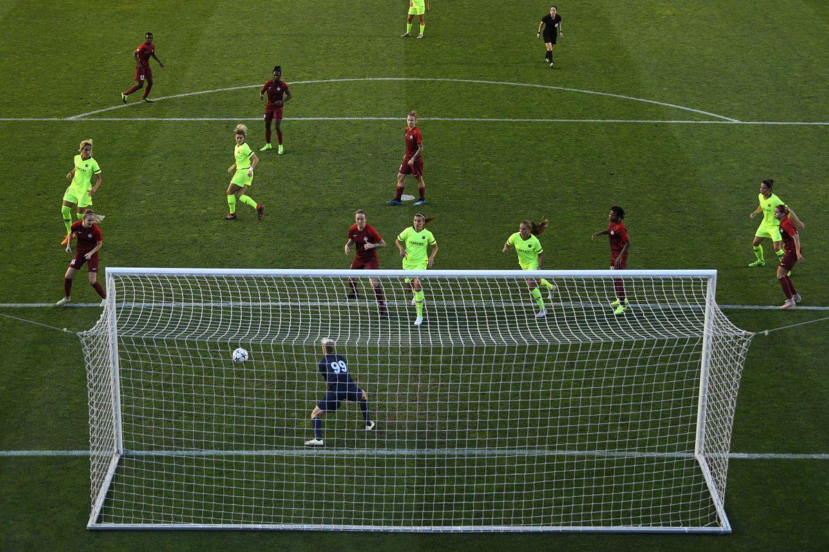 Barcelona v BIIK-Kazygurt - UEFA Women's Champions League Round of 32 2nd Leg