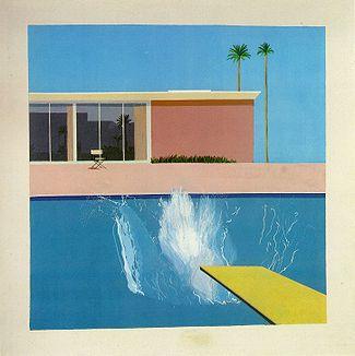 Hockney, A Bigger Splash