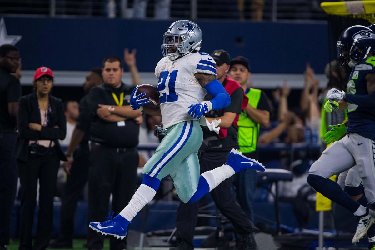 innovative design e8faf 462df Does drafting RB Tony Pollard tell us if Cowboys will give ...