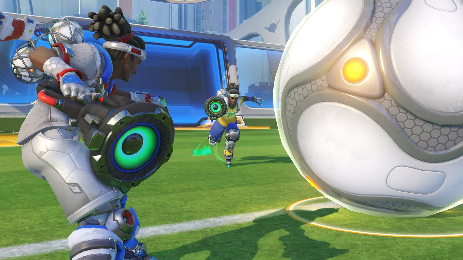 Overwatch players exploiting a bug in Lúcioball may face ...