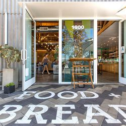 """Begin your day at <a href=""""http://eater.com/archives/2014/09/11/superba-food-bread-los-angeles-california-restaurant-design.php"""">design-minded</a> cafe/bakery/urban park <a href=""""http://superbafoodandbread.com/"""">Superba Food + Bread</a> (1900 S Lincoln Bl"""