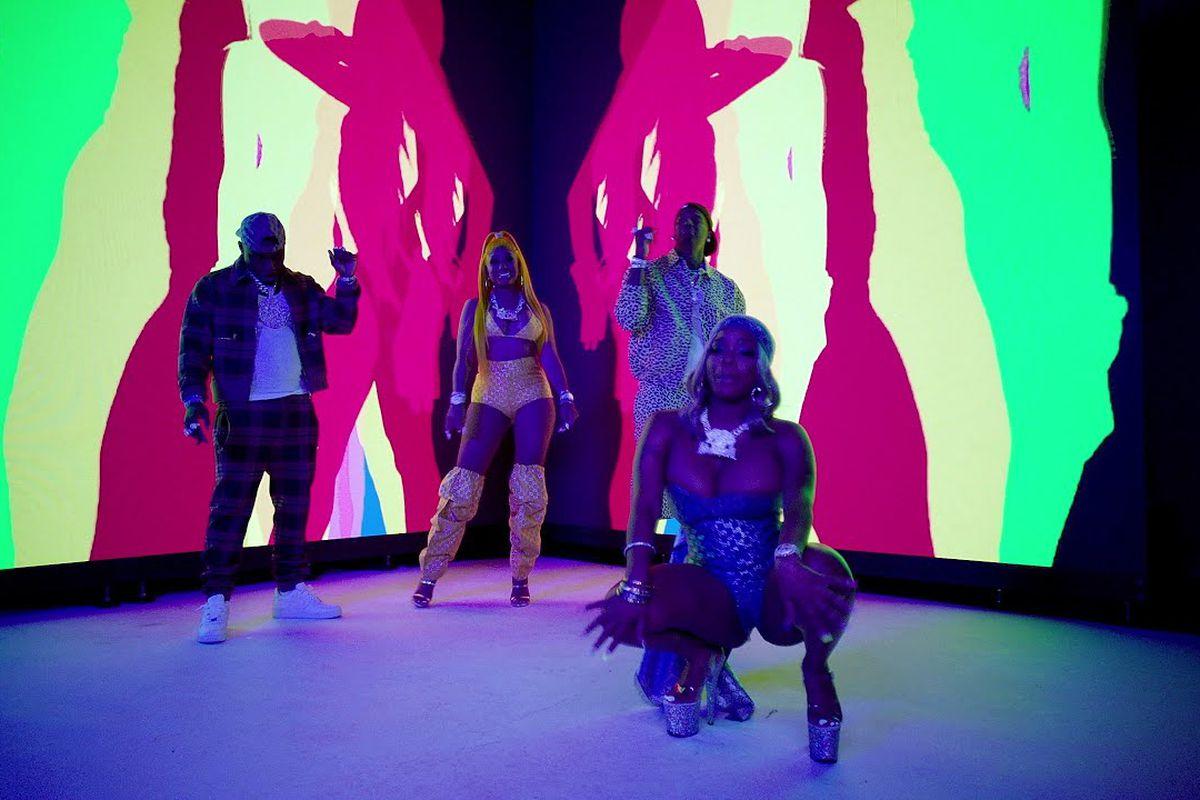 Moneybagg Yo, DaBaby, and City Girls