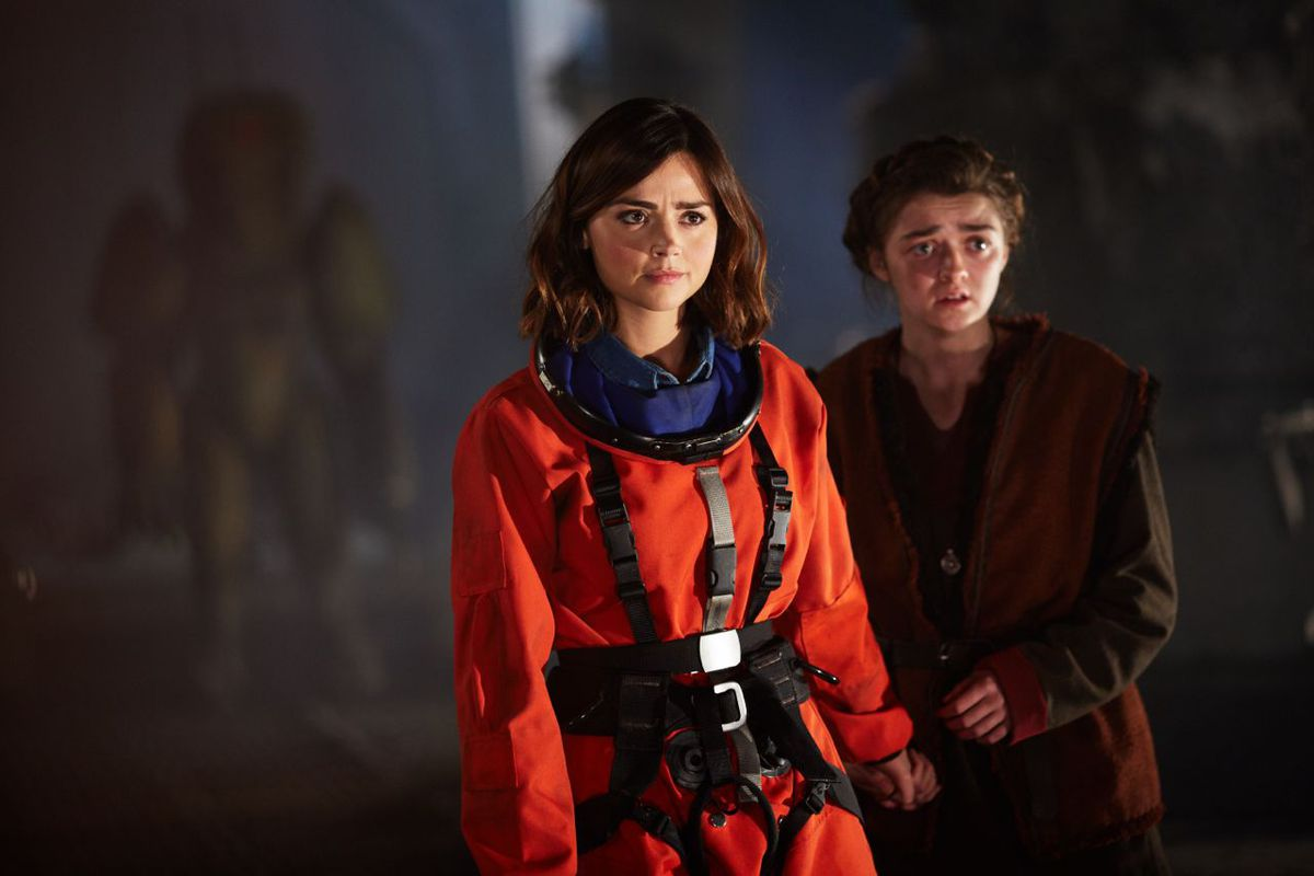 Clara and Ashildr on Doctor Who