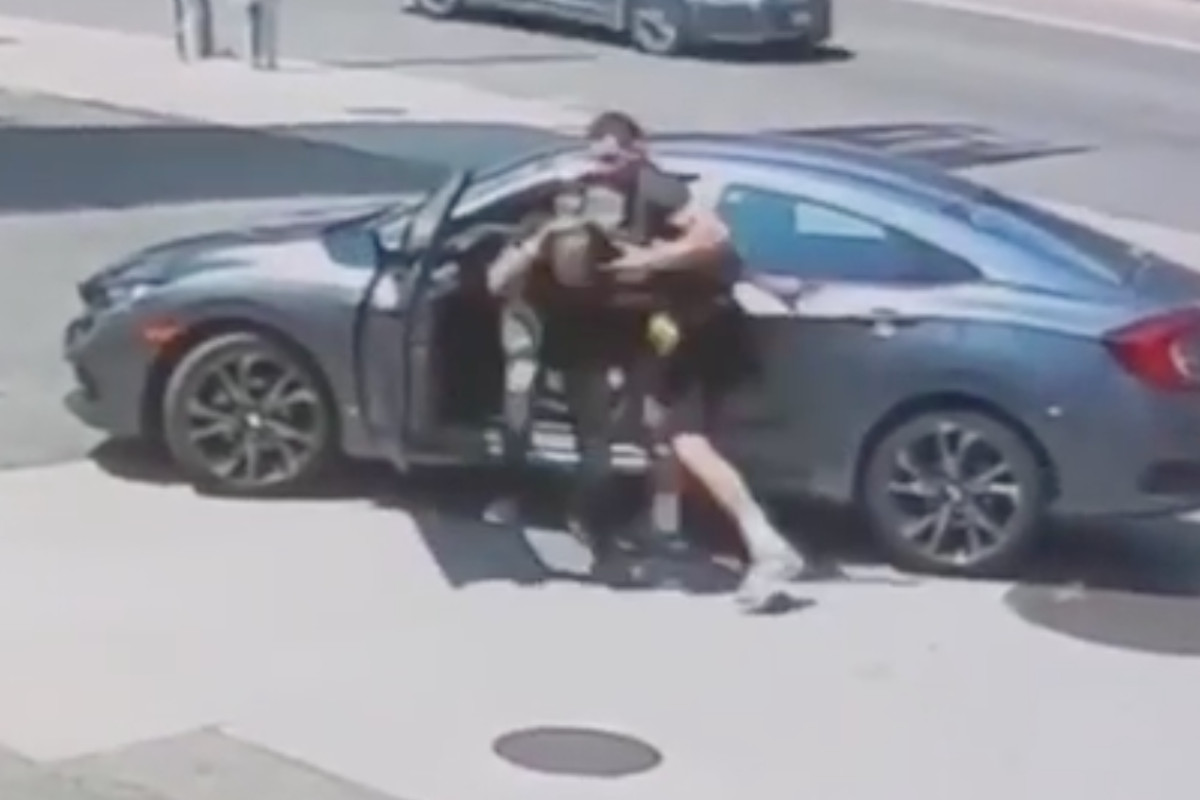UFC fighter Jordan Williams stopped a car thief.