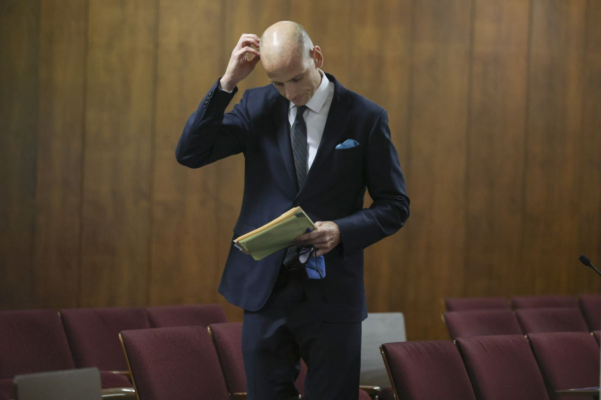 Ald. James M. Gardiner (45th) at the City Council meeting on Sept. 14.
