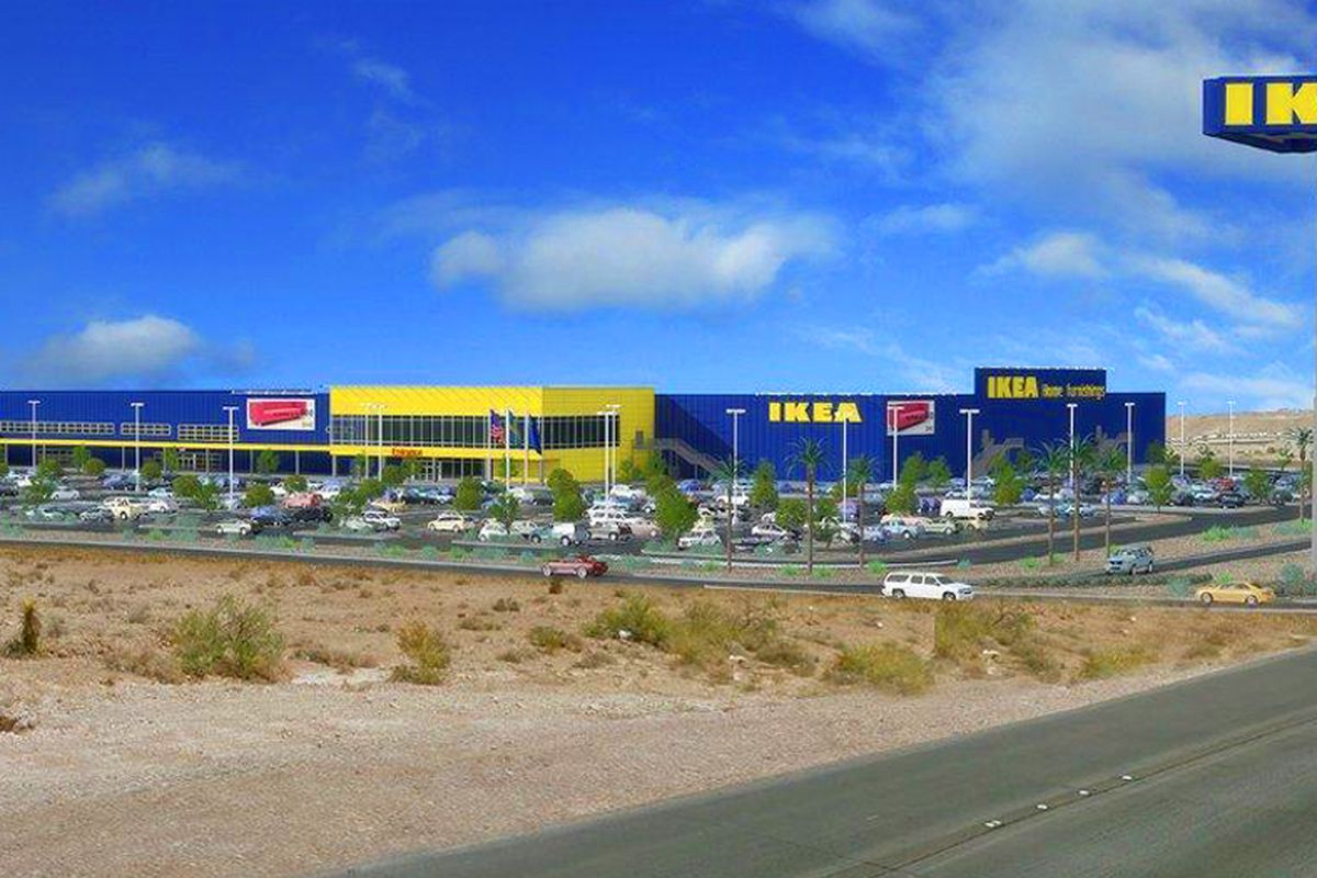 Las vegas ikea to be even bigger than advertised eater vegas for Ikea tracking usa