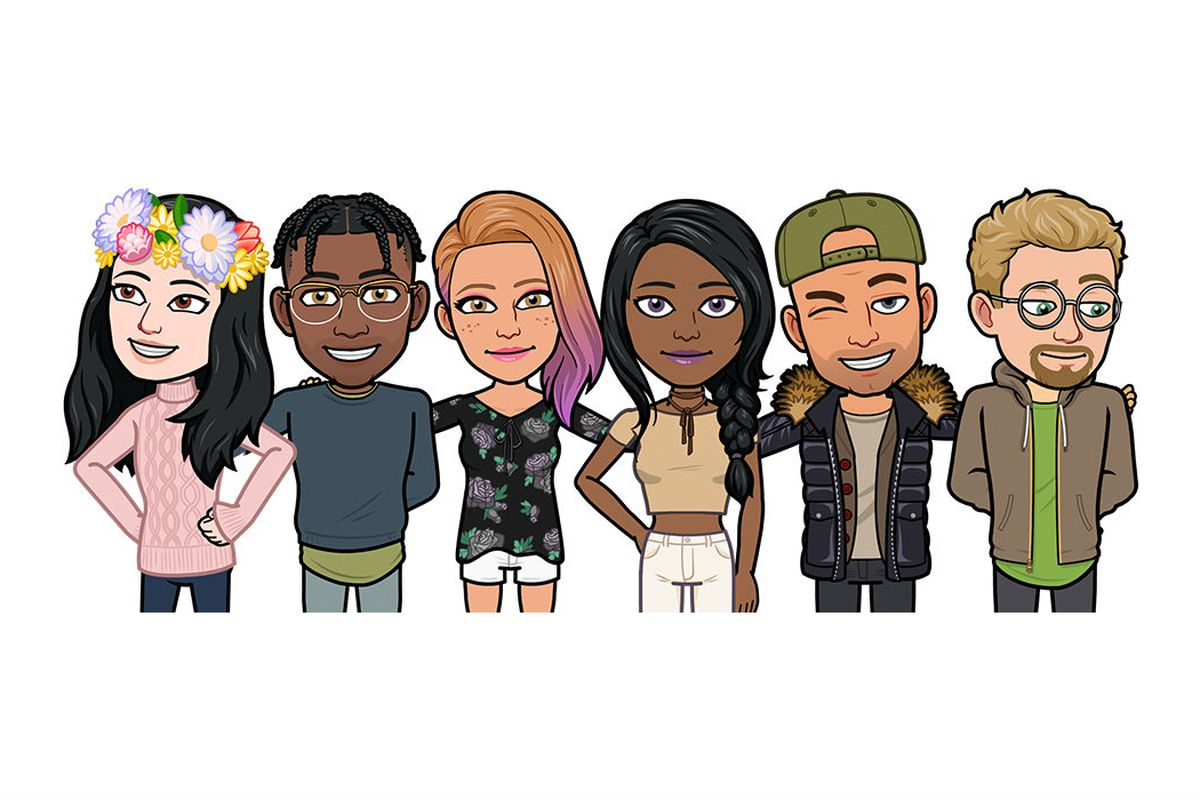 snapchat takes bitmoji deluxe with hundreds of new customization