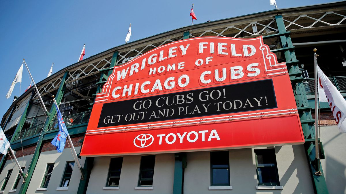 Wrigley Field Curbed Chicago