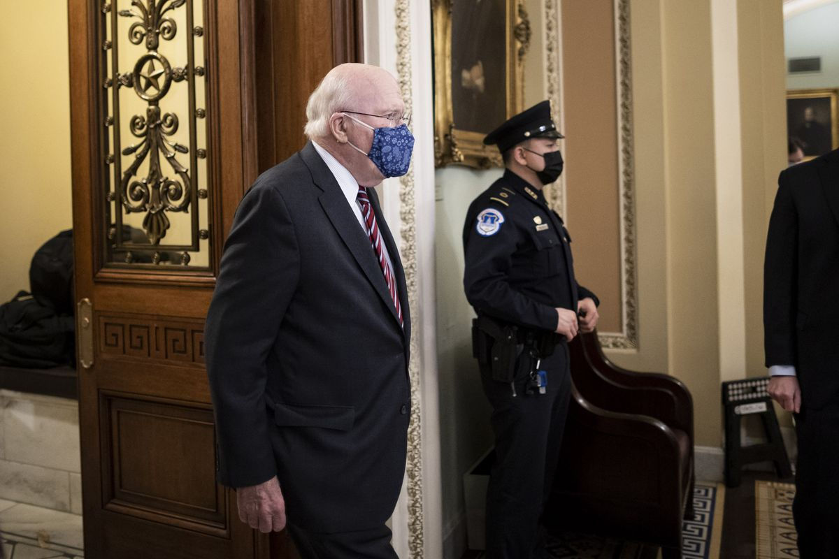 Patrick Leahy, the New President of the United States Senate