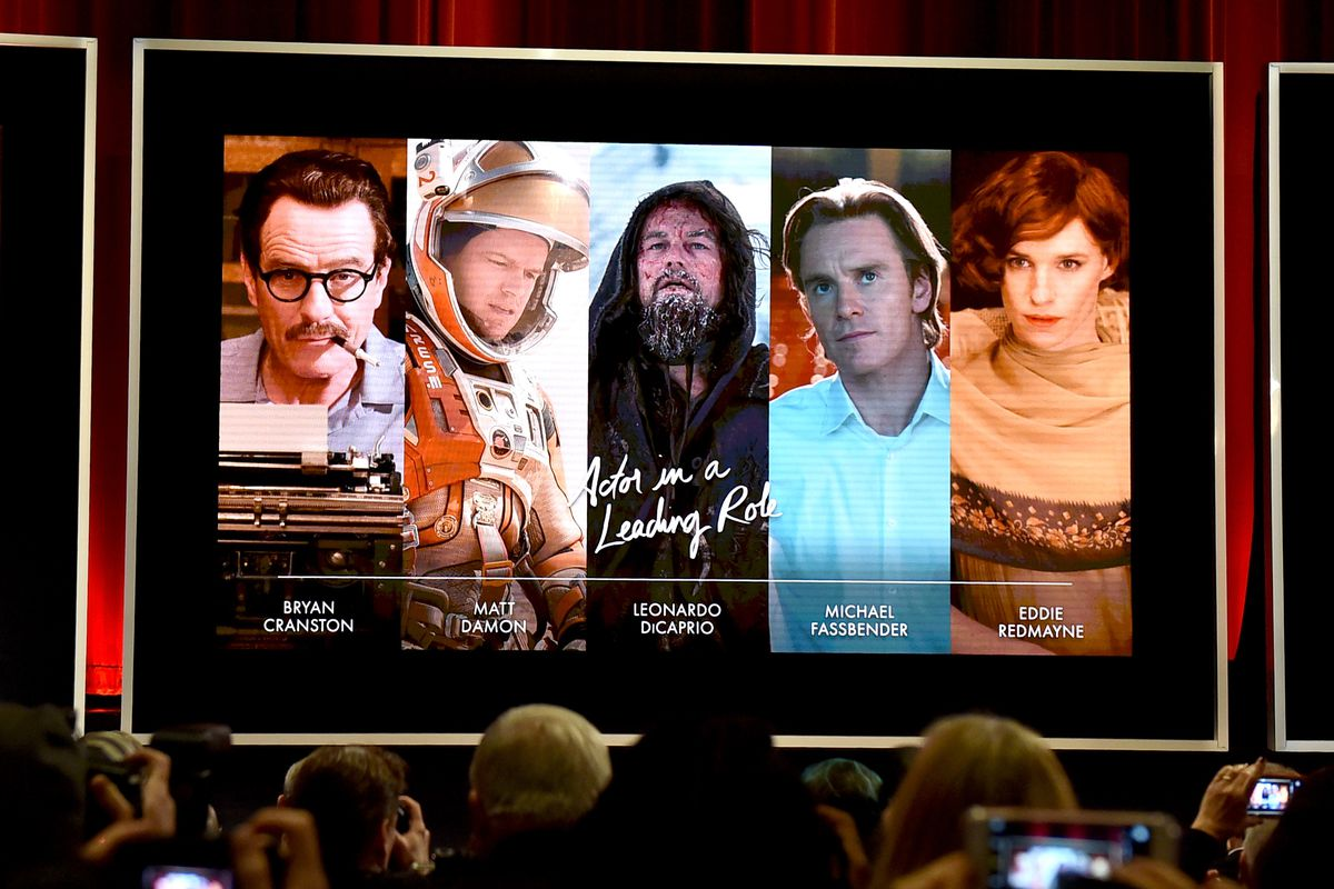The Oscar nominees for Best Actor in a Leading Role.