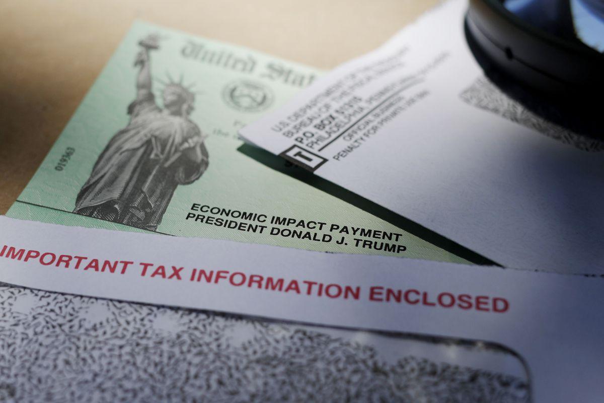 IRS issued stimulus checks.
