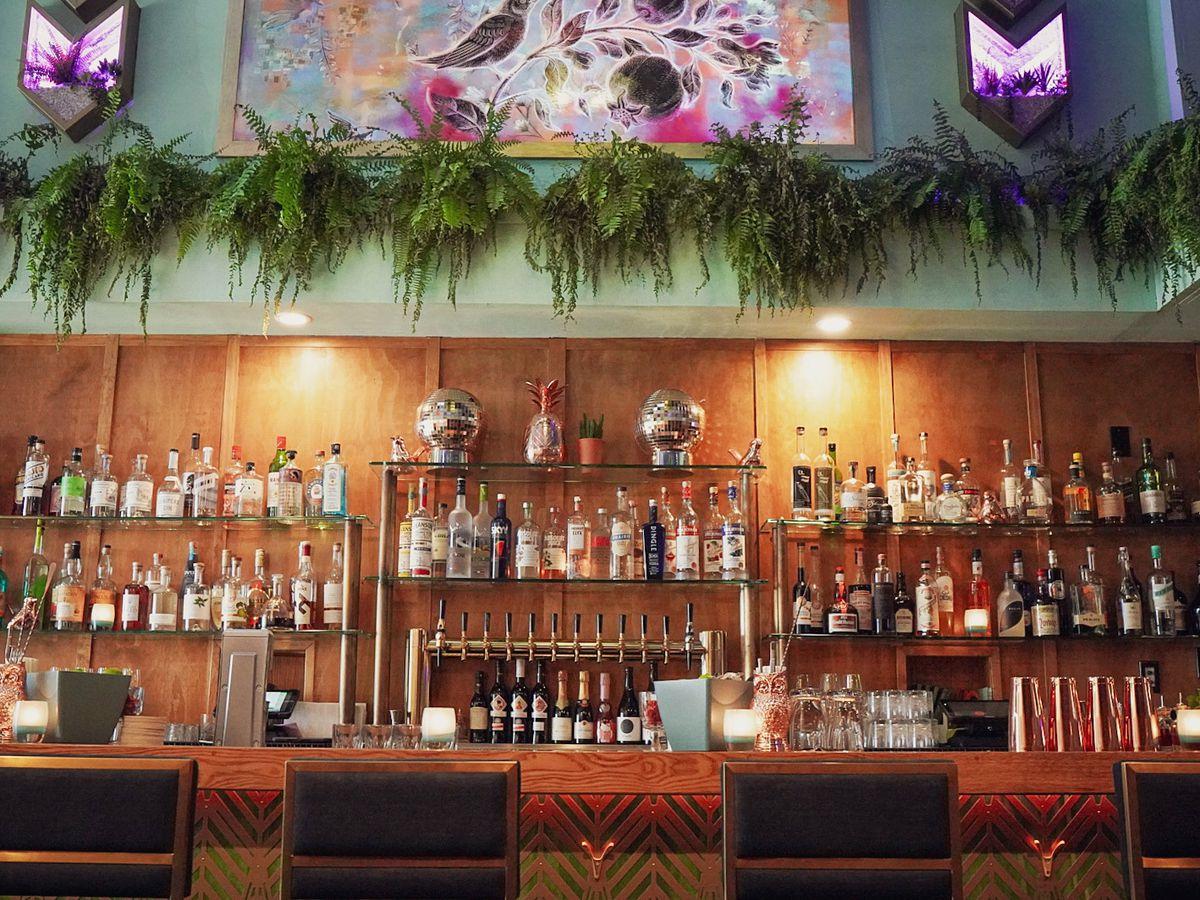 The bar at Nightingale
