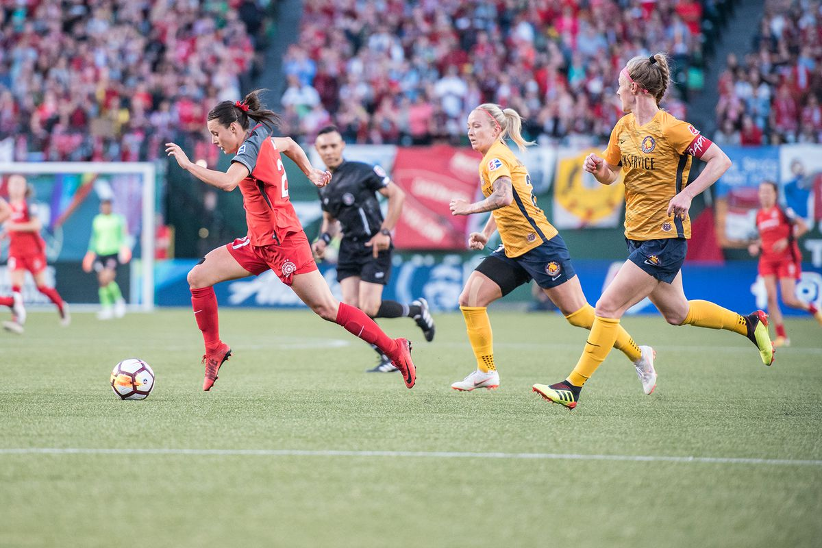 Portland Thorns go down 1-0 to the Utah Royals