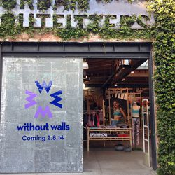 UO's first-ever Without Walls activewear and lifestyle store opened last Saturday. Costa Mesa and Santa Monica are up next!