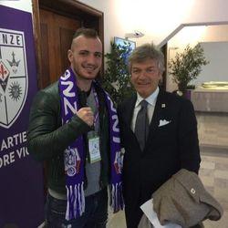 Turchi with the immortal Giancarlo Antognoni
