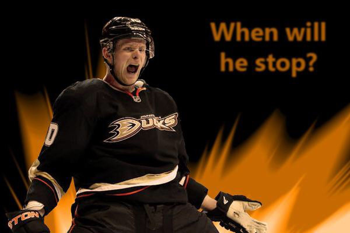 Corey Perry can't be stopped.