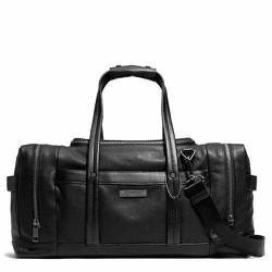 """<strong>Coach</strong> Thompson Urban Trainer in Leather in Antique Nickel/Black, <a href=""""http://www.coach.com/online/handbags/Product-thompson_urban_trainer_in_leather-10551-10051-71227-en?searchKeyword=gym"""">$698</a>"""
